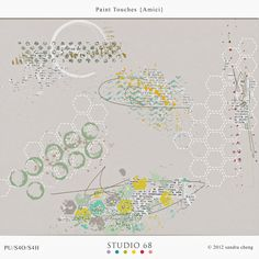 Paint Touches {Amici} by Studio 68