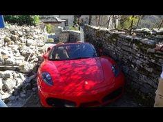 Ferrari off road in Zagori (Grecce)