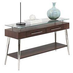 Console Table In Dark Mozambique