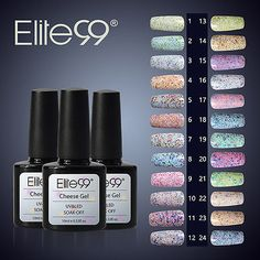 #Elite99 cheese sand gel #polish soak off uv led candy range nail art #manicure d,  View more on the LINK: 	http://www.zeppy.io/product/gb/2/361445535486/