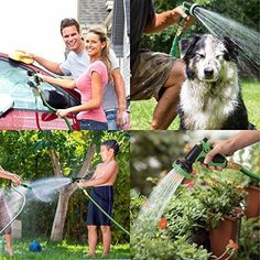 Garden Hose with 9 Function High-Pressure Spray Nozzle Plant Your Seeds🌻🍅🌵🍉🍋🌺 Modern Japanese Garden, Modern Garden Design, Companion Gardening, Gardening Tips, Love Garden, Easy Garden, Growing Tomatoes In Containers, Water Hose, Tomato Garden