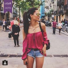 Outfit of the Day winner #summer #styleinspiration courtesy of Iulia Pop #livefromcatwalk15 #ootd