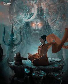 Lord Shiva Pics, Lord Shiva Hd Images, Shiva Parvati Images, Shiva Shakti, Shiva Hindu, Shiva Art, Hindu Art, Aghori Shiva, Spiritual Animal