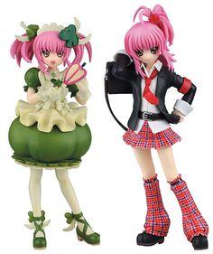 AmiAmi [Character & Hobby Shop] | SRDX - Shugo Chara!: Amu Hinamori & Amulet Clover Complete Figure