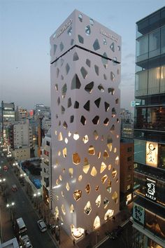 Shizuoka Press and Media Building Tokyo