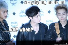 When Xuimin transforms from cute to sexy in a flash.. wait, he's always sexy xD my hubby