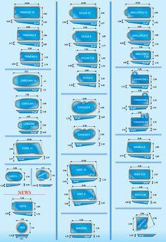 Charming Swimming Pool Dimensions Best 5 - Fiberglass Swimming Pool Sizes