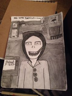 Another urban legend drawing people next one is bunny man and give me the next one pls
