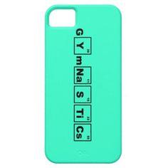 Periodic Table Gymnastics phone case #gymnastgiftguide #holidaygift #gymnast