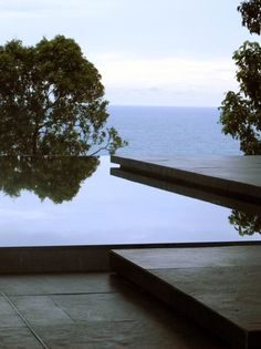 *architecture, outdoor pools, landscape design* - villa Mayavee by Tierra design  via: aubreyroad
