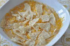 copycat McAllister's chicken tortilla soup...definitely for dinner one night this week!
