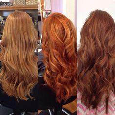 Strawberry, copper twirl, and auburn! Amber Carruthers the salon - Strawberry, copper twirl, and auburn! Amber Carruthers the salon - Hair Color Auburn, Auburn Hair, Hair Inspo, Hair Inspiration, Ginger Hair Color, Strawberry Blonde Hair, Copper Hair, Copper Red, Spring Hairstyles