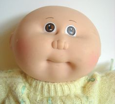 1980S Cabbage Patch Dolls | Cabbage Patch Doll 1980s Vintage Bald Preemie by ManateesToyBox. I had her; her name was Bridgette.