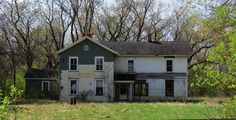 Abandoned house south of Plainfield, Wi.