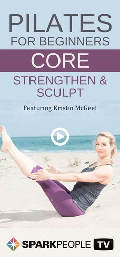 Join Kristin McGee as she introduces you to the benefits of Pilates to help transform your core strength, flexibility, alignment and sculpt. This routine features some of the classic Pilates core toning cycles. Try this workout to strengthen your abs today!