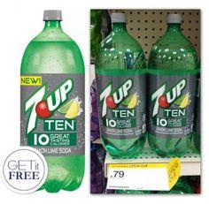 Free 7-Up Ten at Target!