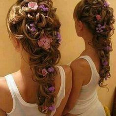 my little bridesmaids hair