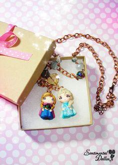 Disney Frozen Jewelry Disney Elsa Necklace by SentimentalDollieZ, $40.00