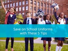 5 Uncommon Ways to Save on School Uniforms