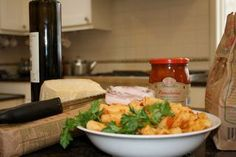 Pasta with La Quercia Guanciale & Tomatoes by Chef Carlo Mirarchi of Roberta's in Brooklyn