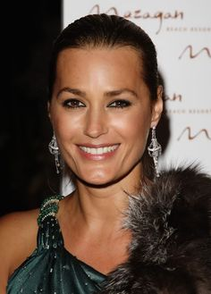 Yasmin LeBon still beautiful after all this time.   She will be 52 on Oct. 29, 2016