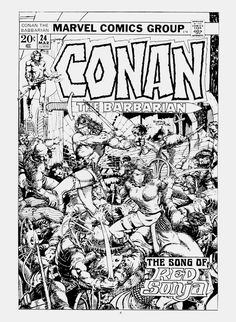 Conan The Barbarian by Barry Windsor-Smith