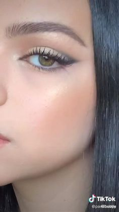 Makeup Eye Looks, Eye Makeup Steps, Eye Makeup Art, Cute Makeup, Simple Makeup, Skin Makeup, Eyeshadow Makeup, Natural Makeup, Small Eyes Makeup