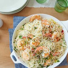 Gina's Shrimp Scampi with Angel Hair Pasta By Patrick and Gina Neely
