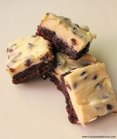 """I Don't"" Cookie Brownie Bars"