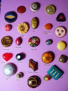 Celluloid Button Collection