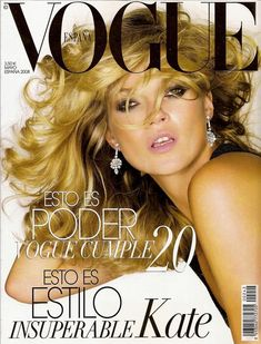 Kate Moss - Vogue Magazine [Spain] (May 2008)