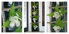 Amazing project to liven up any entry way and change with the seasons.  So beautiful!  ~Ashbee Design