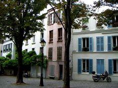 Belleville Quarter, Place du Guigner, Paris XX