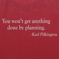 Planning - Karl Pilkington Quote Shirt - Only £18!!
