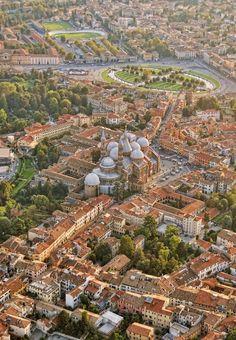 Flying over Padova | Italy (by Versilio Vecchira)