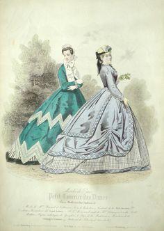 1860 - Petit Courrier des Dames