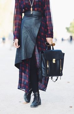 Desirae in the To the Floor Shirtdress #plaid || Get the top:  http://www.nastygal.com/product/to-the-floor-shirtdress?utm_source=pinterest&utm_medium=smm&utm_term=ngdib&utm_content=nasty_gals_do_it_better&utm_campaign=pinterest_nastygal