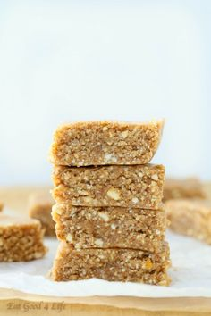Eat Good 4 Life Almond coconut bars. This take just 10 minutes. They are gluten free and vegan and can also be frozen for future consumption.