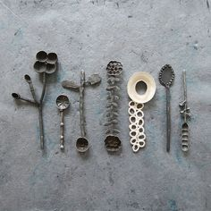 Metal Jewelry, Jewelry Art, Jewel Artist, Philippine Art, Spoon Art, Pottery Sculpture, Knobs And Handles, Unique Necklaces, Contemporary Jewellery