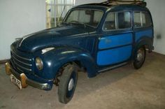 1949 Fiat 500F Belvedere. (It's for sale...)