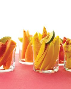 fruit cups for Cinco de Mayo party