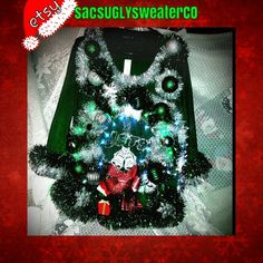 Check out this item in my Etsy shop https://www.etsy.com/listing/203956838/light-up-ugly-christmas-sweater-jets