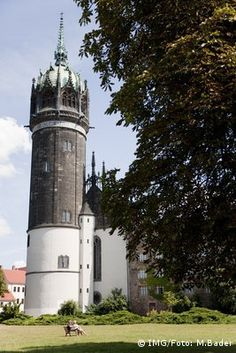 Castle Church in Lutherstadt Wittenberg