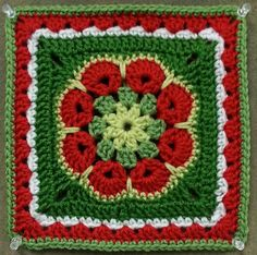 Ravelry: kitchenkoala's African Flower Square