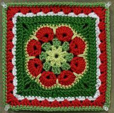 Ravelry: kitchenkoala's African Flower Square