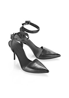 Alexander Wang - Lovisa pump, in black leather, $495.00 (also available in black suede: http://www.alexanderwang.com/us/shop/women/shoes-heels-lovisa-suede-pump_cod44956826kn.html#dept=vwllshsw)