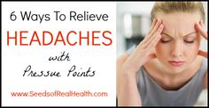 Learn how you can relieve headaches with pressure points in this informative article. Instead of reaching for the medicine cabinet, try this natural remedy!