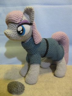 CROCHET PATTERN NOT THE ACTUAL TOY    (To purchase the pony plush toy go to this page for pricing and general questions about my toys