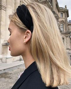 Developing a wardrobe of accessories can take time. It's worthwhile to develop a curated wardrobe of accessories so that you always have something fabulous to pop on, no matter what your mood or the occasion.   #headband #hairstyles