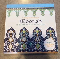 Coloring For Mindfulness Moorish 70 Designs To Help You De Stress